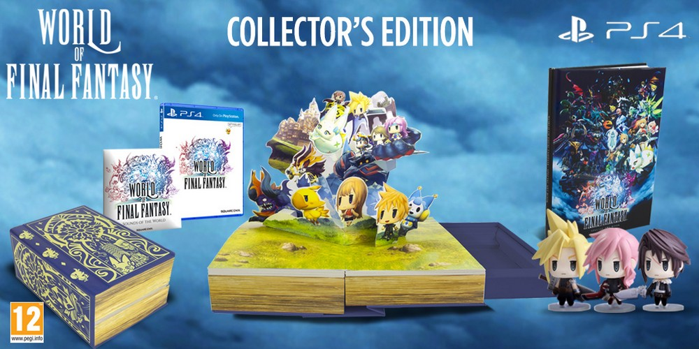 World of Final Fantasy Recensione