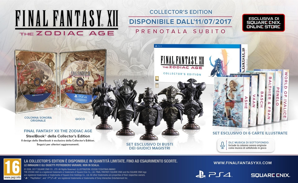 FF XII: The Zodiac Age Collector's Edition