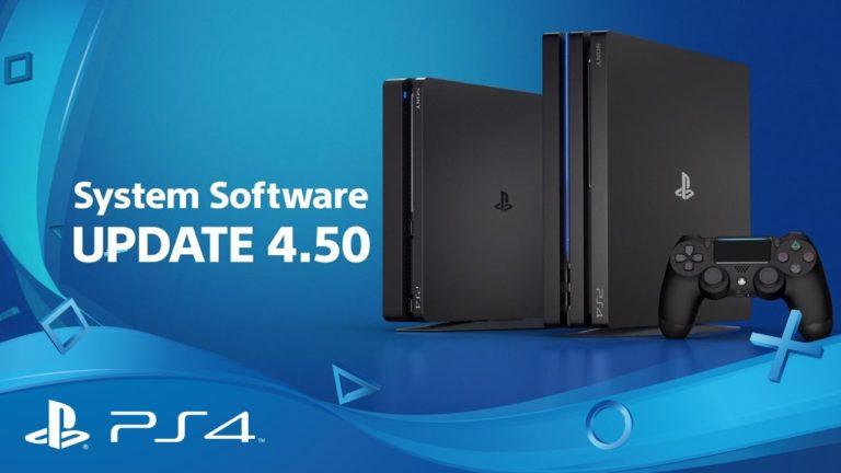 Arriva domani il firmware 4.50 per PlayStation 4