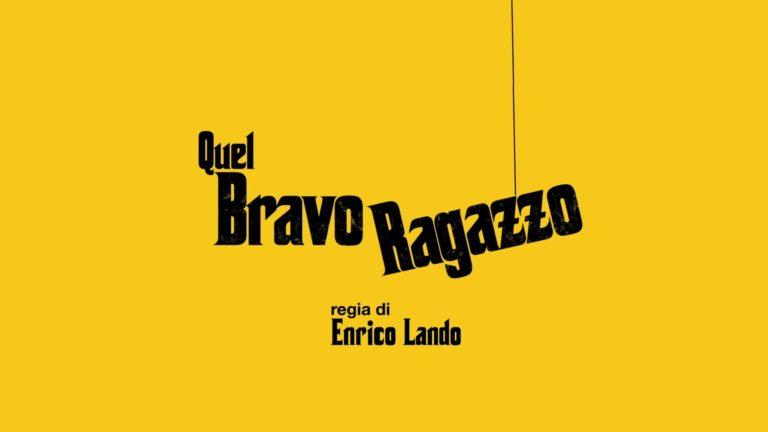 Quel Bravo Ragazzo (Film 2016) – Recensione DVD
