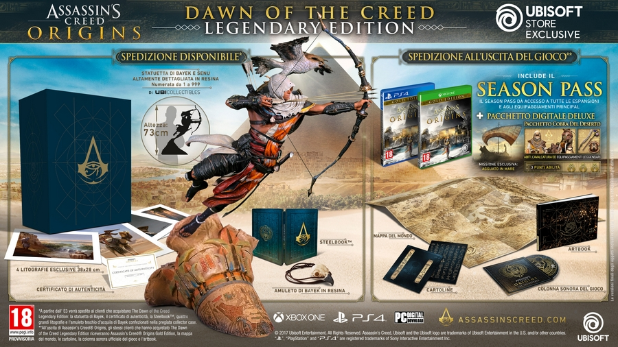Assassin's Creed Origins Dawn of the Creed