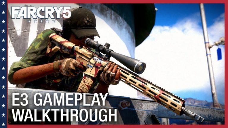 E3 2017: mostrati 3 minuti di gameplay per Far Cry 5