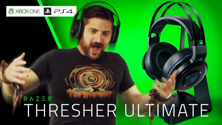 Razer Thresher Ultimate sono le nuove cuffie per PS4
