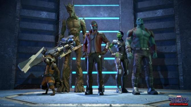 Guardiani della Galassia Telltale Games