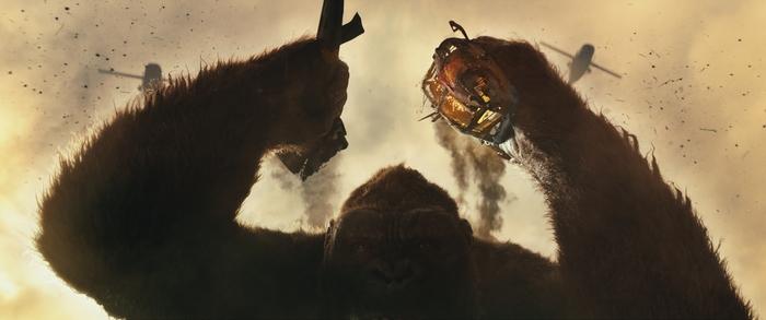 Kong: Skull Island Blu Ray