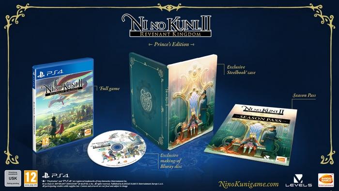 Ni No Kuni 2: Il Destino di un Regno Prince's Edition