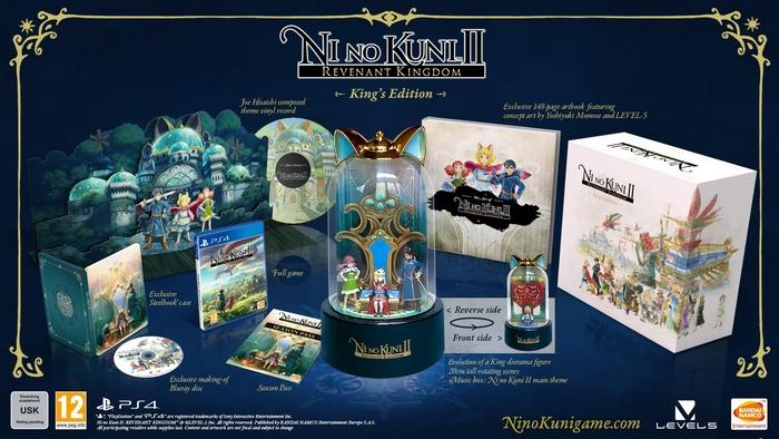 Ni No Kuni 2: Il Destino di un Regno King's Edition