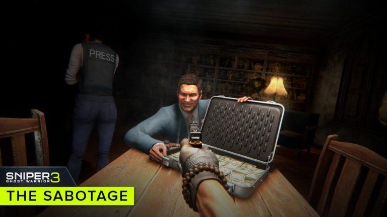 Sniper Ghost Warrior 3 – nuovo teaser trailer sul DLC The Sabotage
