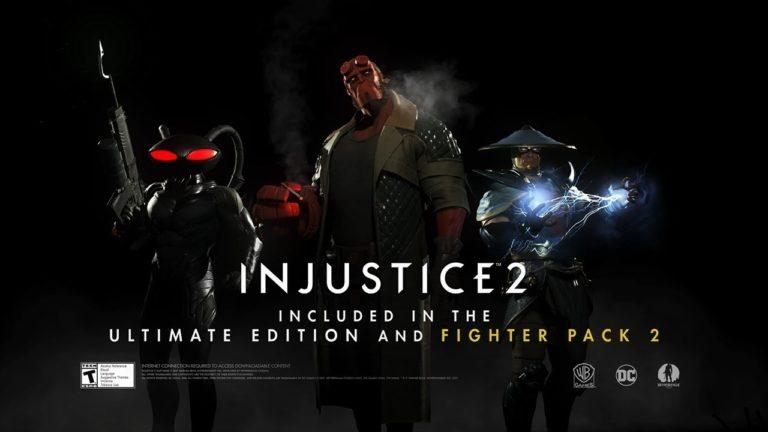 Injustice 2 – annunciato il Fighter Pack 2