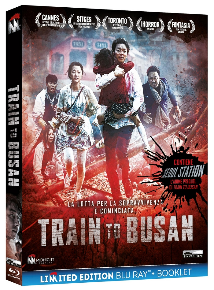 Train to Busan Blu Ray