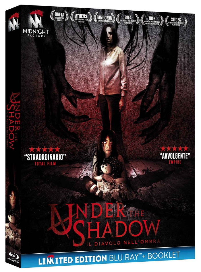 Under the shadow Blu Ray