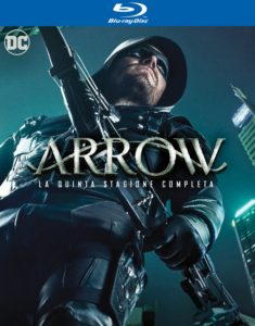 Arrow stagione 5 Blu Ray