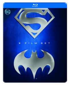 BATMAN/SUPERMAN 9 FILM ANTHOLOGY TIN - BLU-RAY STEELBOOK