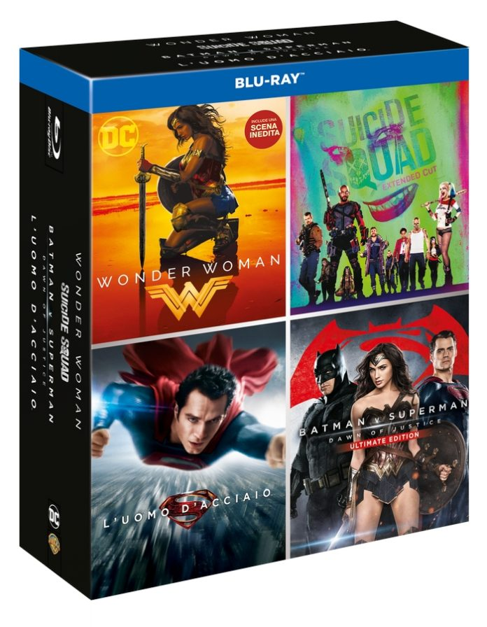 DC 4 Movies Boxset
