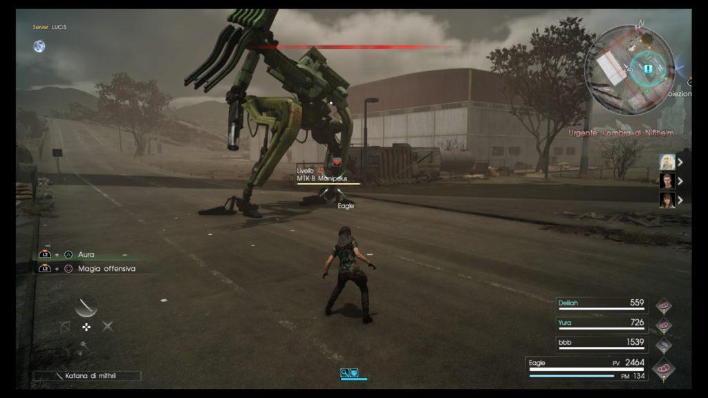 Final Fantasy XV: Compagni di Battaglia