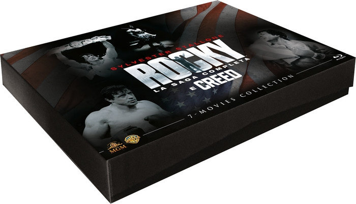 ROCKY LA SAGA COMPLETA & CREED - BLU-RAY BOX SET