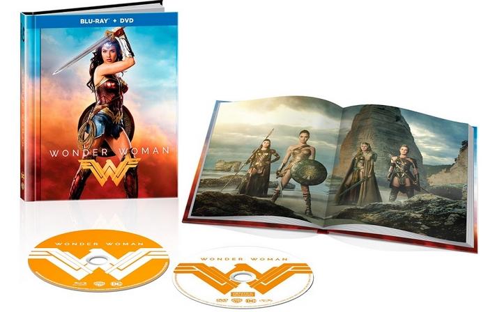 Wonder Woman Blu Ray Digibook