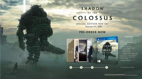 Shadow of the Colossus: Special Edition Box Set