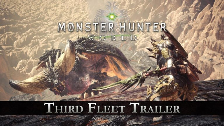 PlayStation Experience 2017 – nuovo trailer per Monster Hunter: World