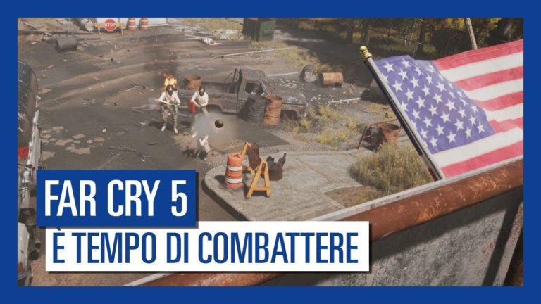 """Far Cry 5 – pubblicato un nuovo trailer intitolato """"La Resistenza"""""""