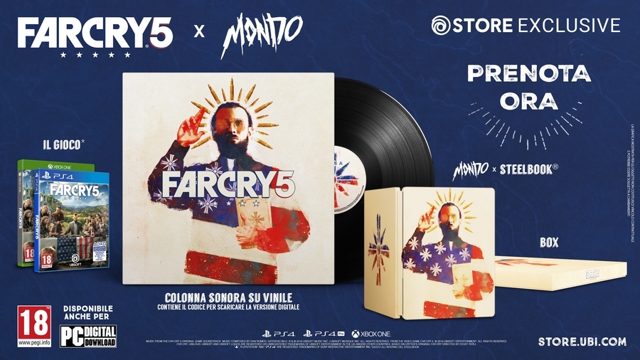 Far Cry 5 x Mondo Limited Edition