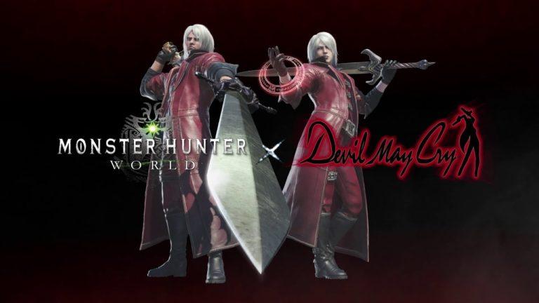 Monster Hunter: World – annunciata una collaborazione con Devil May Cry