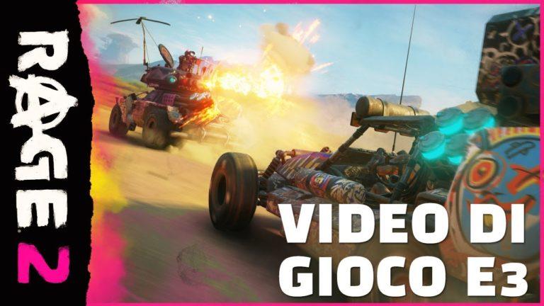 E3 2018 – nuovo gameplay trailer per Rage 2