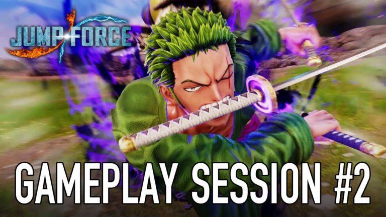 Jump Force – il nuovo gameplay mostra un combattimento tra Zoro e Sasuke Uchiha