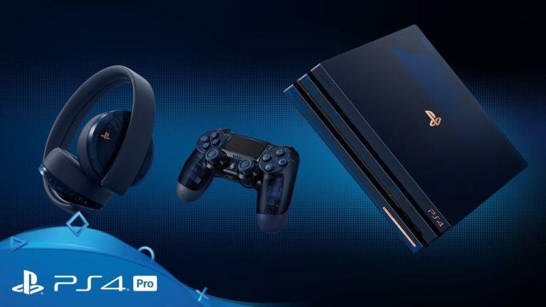 PlayStation 4 – annunciata una nuova edizione speciale per le 500 milioni di PlayStation vendute
