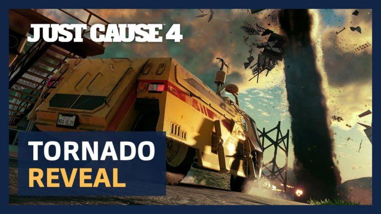 Just Cause 4 – il nuovo gameplay mostra la potenza di un tornado