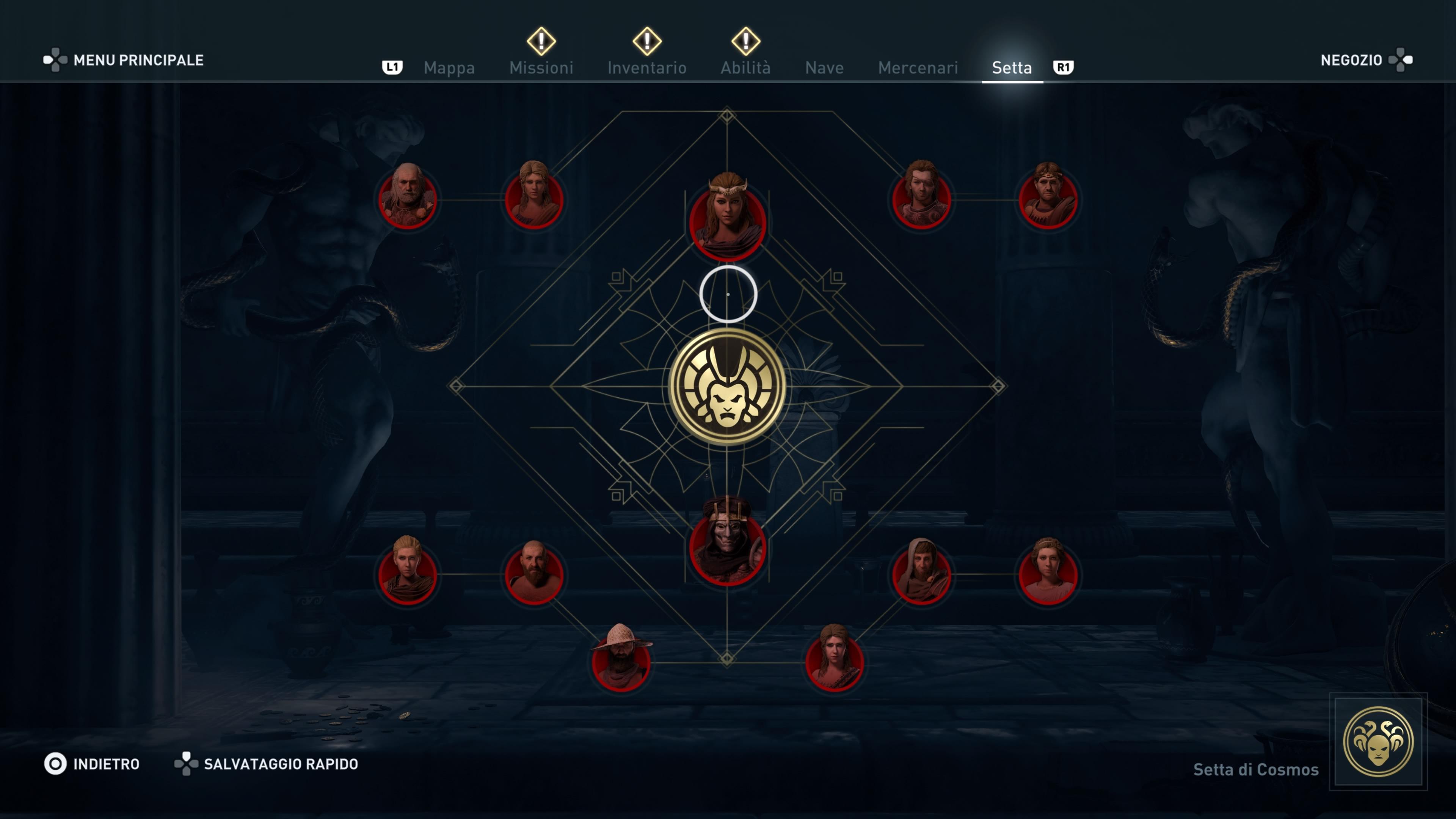 GUIDA TROFEI] Assassin's Creed Odyssey: L'eredità della