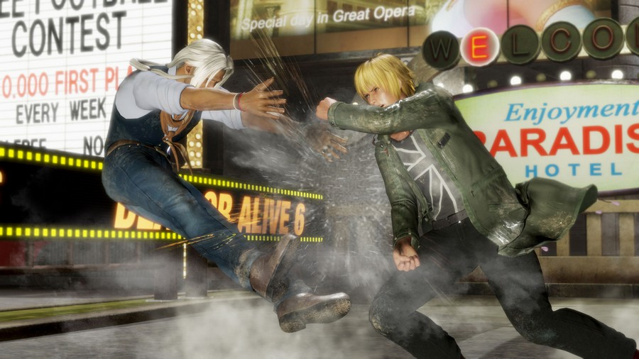 Dead or Alive 6 Fight