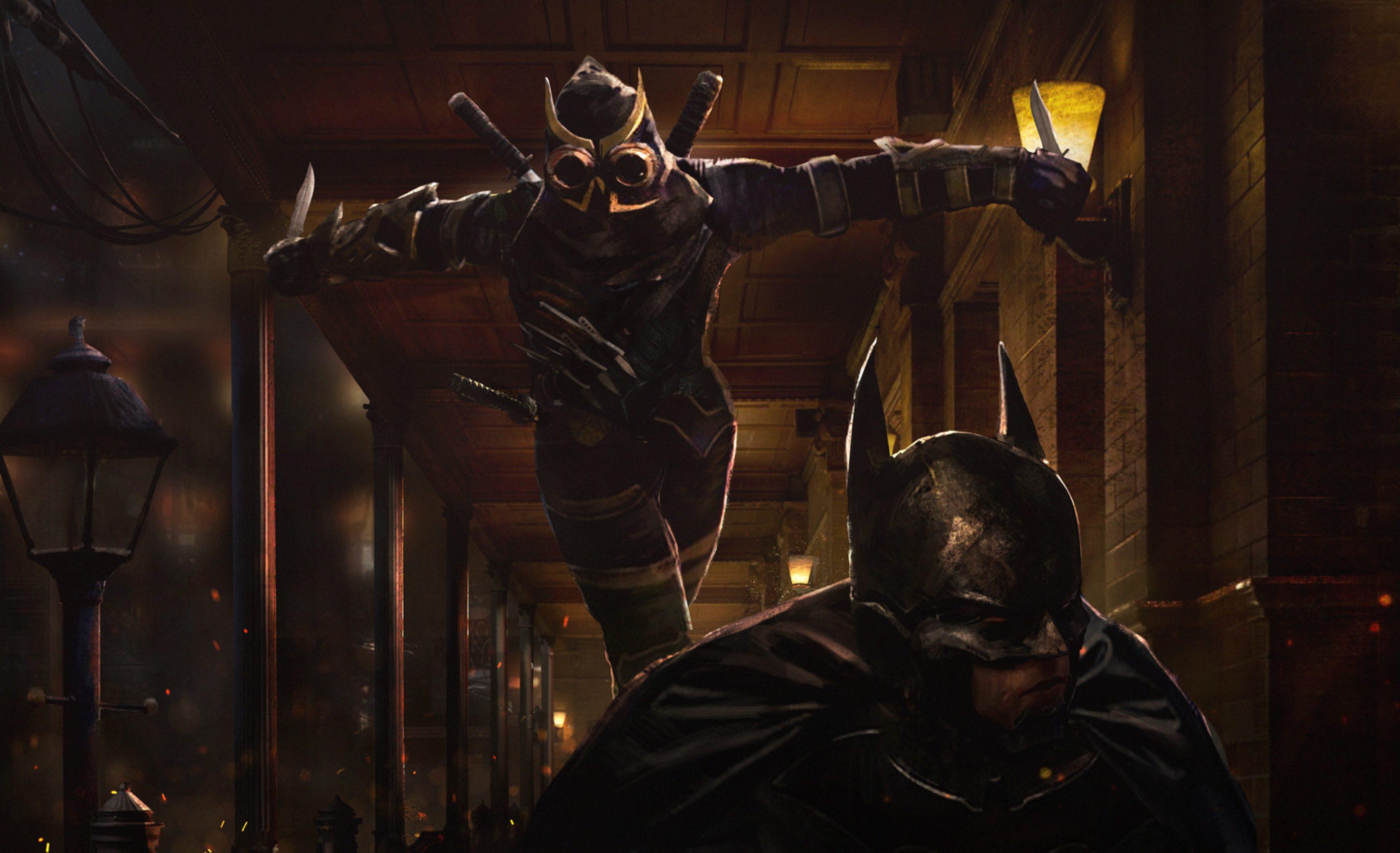 Batman Arkham WB Games