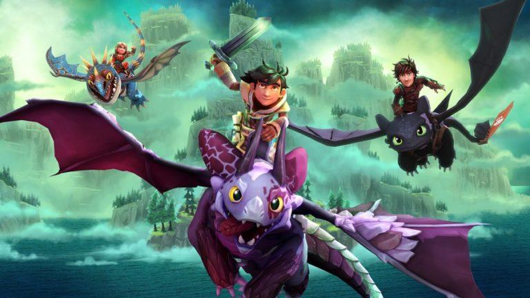 DreamWorks Dragons: L'alba dei nuovi cavalieri – Disponibile ora, con trailer di lancio