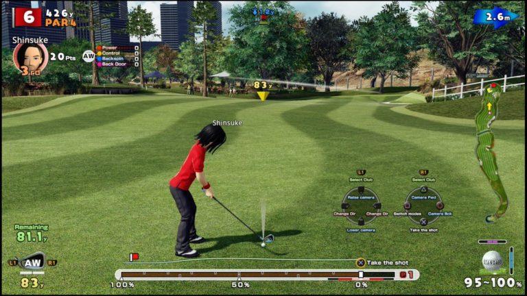 Everybody's Golf VR – Il trailer Everybody's Swing