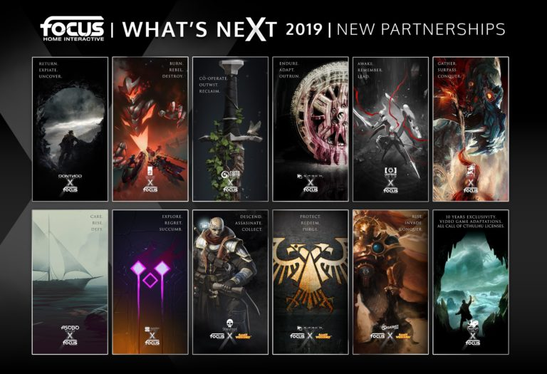 Focus Home Interactive – Annunciate le partnership del 2019