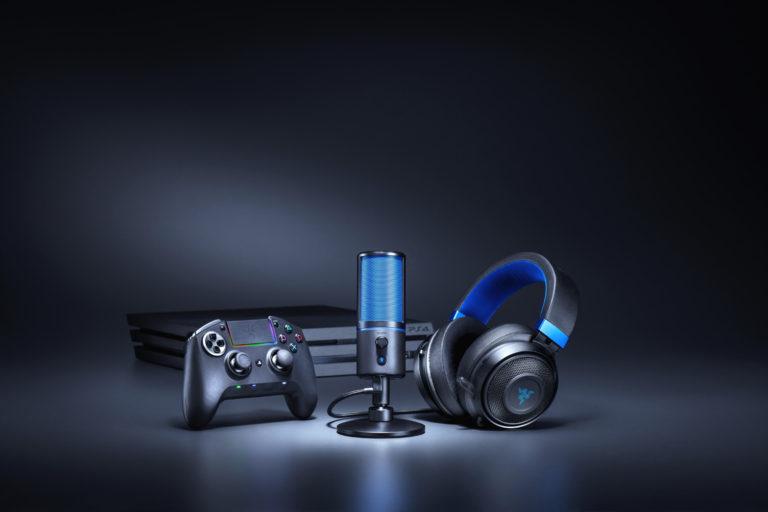 Razer Seiren X – Annunciato il nuovo microfono su licenza PlayStation 4