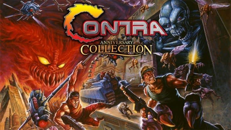 Contra Anniversary – Annunciata la line-up dei titoli inclusi nella collection