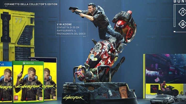 Cyberpunk 2077 – L'unboxing della Collector's Edition si mostra in un nuovo video