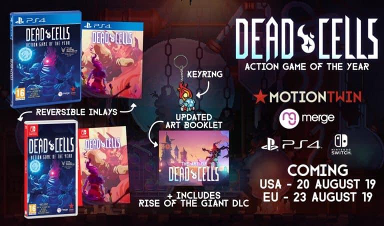 "Dead Cells – Annunciata l'edizione fisica ""Action Game of the Year"""