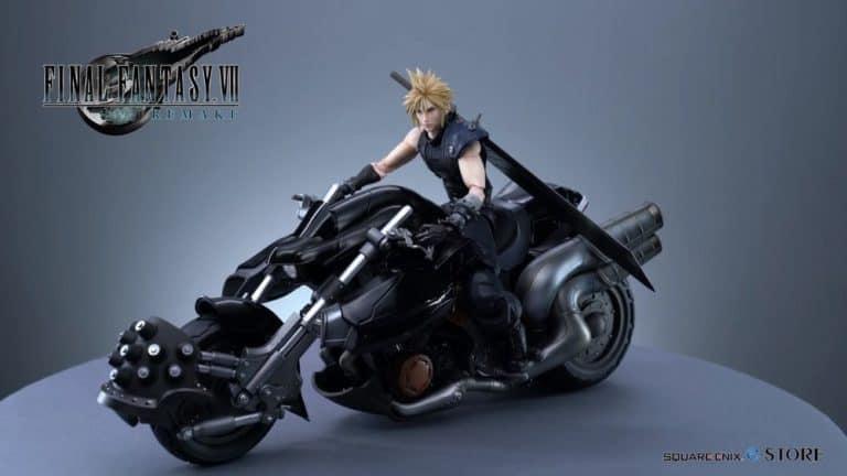 Final Fantasy VII Remake – La Play Arts Kai di Cloud si mostra al dettaglio in un nuovo video