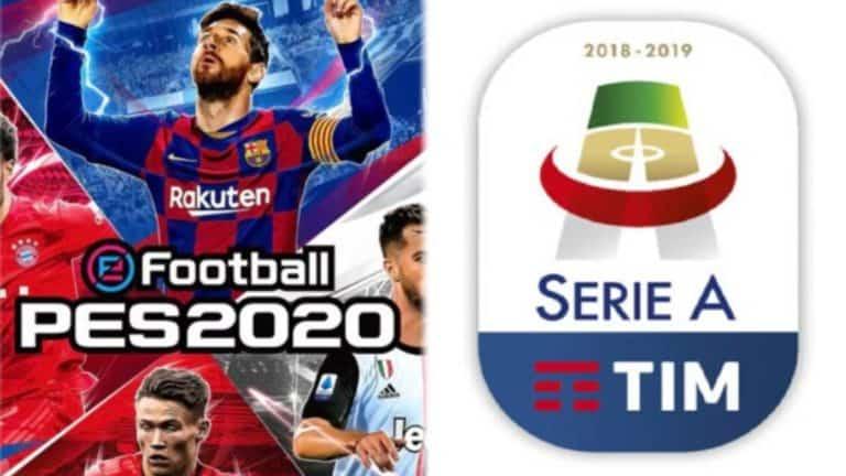 PES 2020 – Annunciata la licenza ufficiale della Seria A Tim