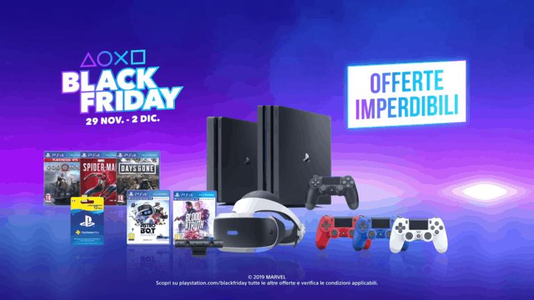 PlayStation – Annunciate le promozioni del Black Friday