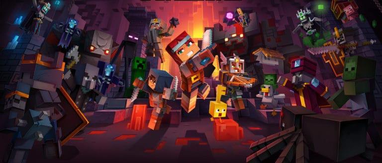 Minecraft Dungeons – annunciato il periodo d'uscita