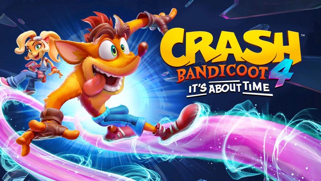 Crash Bandicoot 4 rece intro