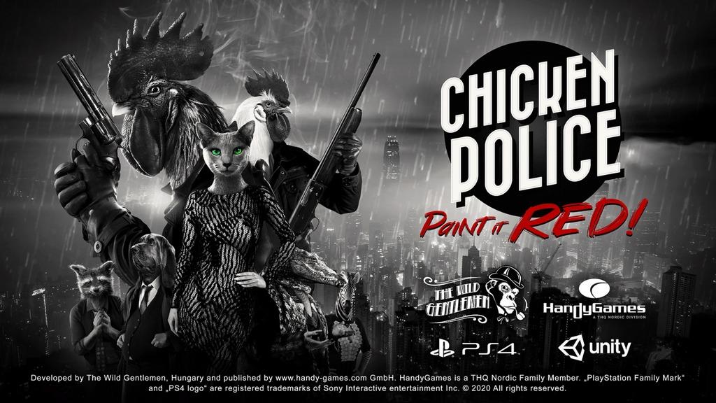 chicken police intro rece